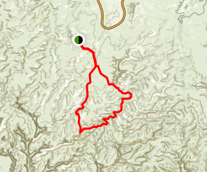Lost Canyon Map