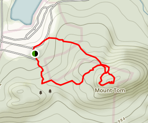 Mount Tom Tower Trail Map