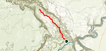 Paria Canyon Trail Map