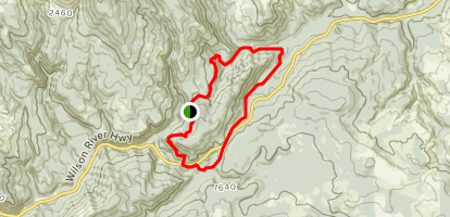 Storey Burn Loop Trail Map