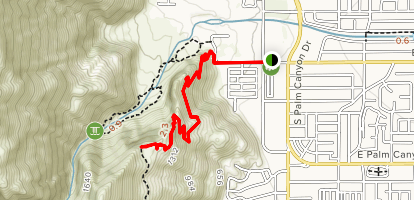 South Carl Lykken Trail - North Section Map