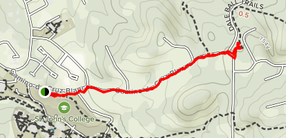Cruz Blanca Trail Map