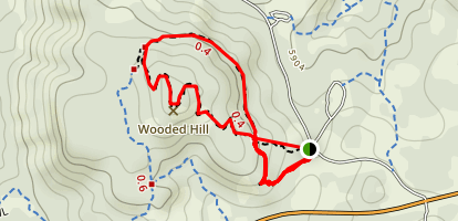 Wooded Hill Nature Trail Map