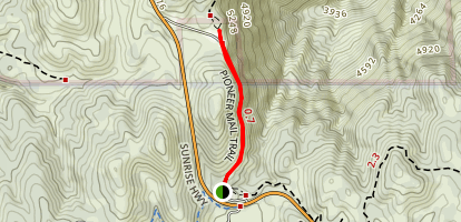 Pioneer Mail Trail Map