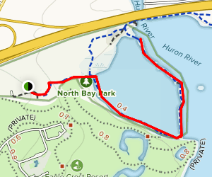 North Bay Trail Map