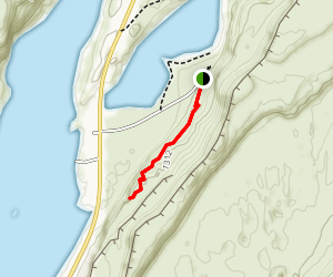 Lake Lenore Caves Map