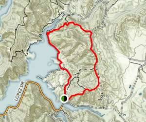 High Ridge Trail Loop Map