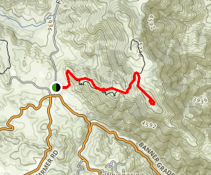 Volcan Mountain Trail Map
