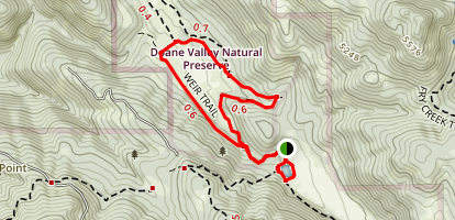 Doane Valley Loop Trail Map