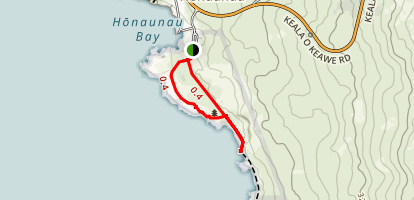 Place of Refuge (Puuhonua o Honaunau) Trail Map