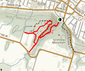 Beamer Memorial Conservation Area Trail Map