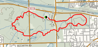 Cap Sauers and Swallow Cliff Loop Trail Map