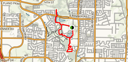 Breckenridge Park Trail Map