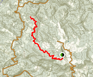 Emerald Mountain Outback Trail Map