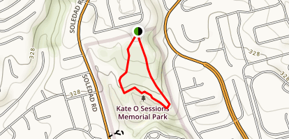 Kate O Sessions Memorial Park Map