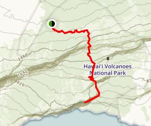 Halape Trail Map