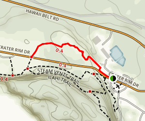 Sulphur Banks Trail Map