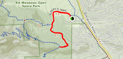 Sleepy S Trail Map