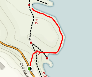 Onomea Trail Map