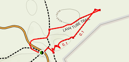 Thurston Lava Tube Trail Map