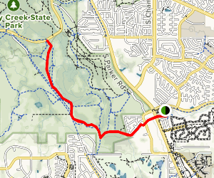 Cherry Creek Natural Area Map