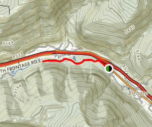 Gore Valley Trail Map