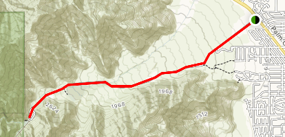 Tramway Road to Bottom Station Map