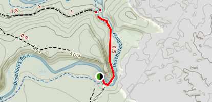 Benham Falls Trail Map