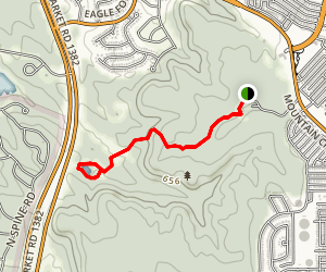 Cattail Pond Via Escarpment Trail Map