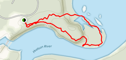Hudson Pointe Nature Preserve Map