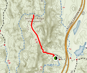 Little Sycamore Canyon Trail Map