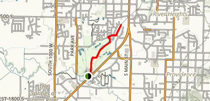 Logan River Trail  Map