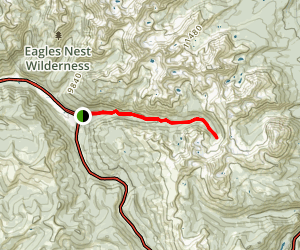 Gore Creek Trail Map