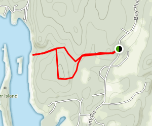 Berry Woods Trail Map