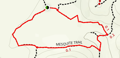 Mesquite Trail Loop Map