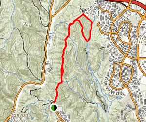 West Ridge Trail, Lynx, and Cholla Trails Map