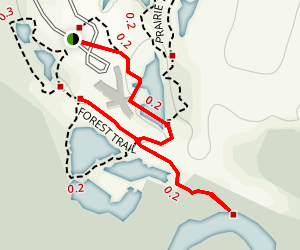 Trinity River Audubon Center Trail Map