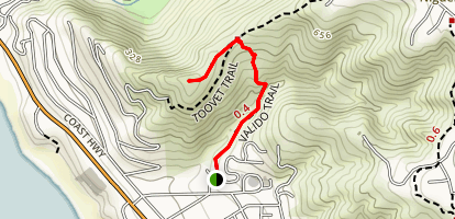 Valido Trail Map