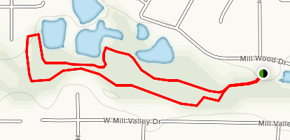 Colleyville Nature Center Trail Map