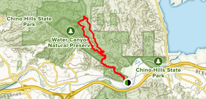 Scully Ridge Trail Map