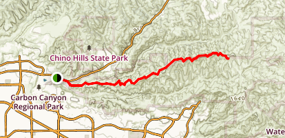 North Ridge Trail Map