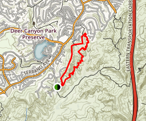 Weir Canyon Trail Map