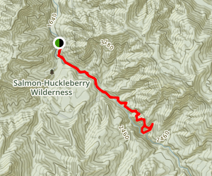 Salmon River Trail - Short Option Map