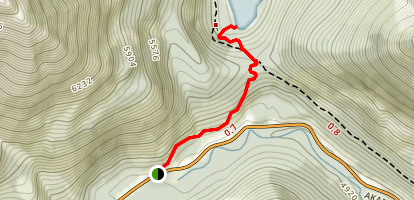 Crandell Lake Trail Map