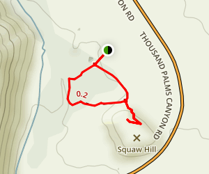 Squaw Hill Map