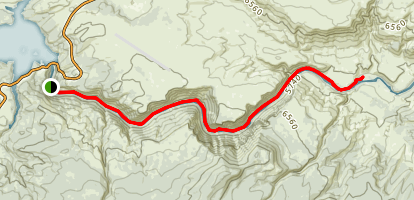 Little Hole Trail Map