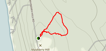 Mayberry Hill Preserve Map