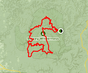 Sipsey Wilderness Trail System Map
