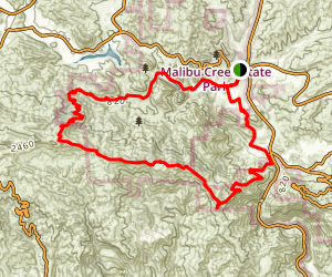 Bulldog Loop Trail Map