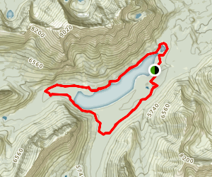 Two Medicine Lake Loop Map